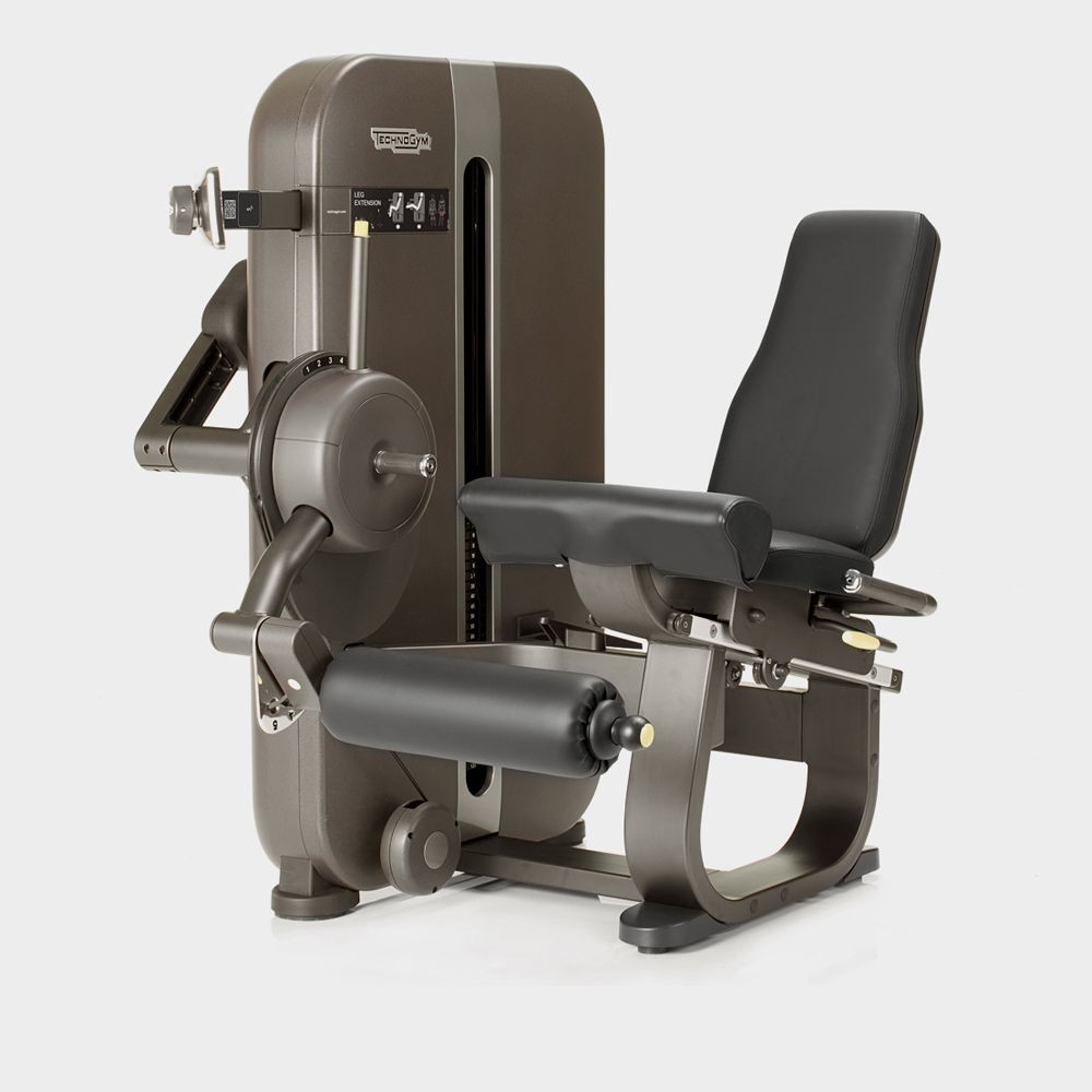 Concept fitness gym equipment - technogym Artis leg extension