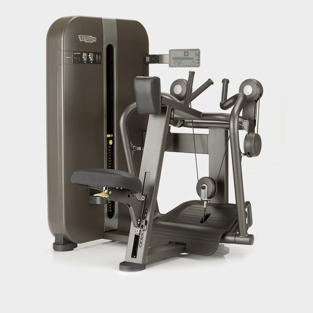 Concept fitness gym equipment - technogym artis low row machine