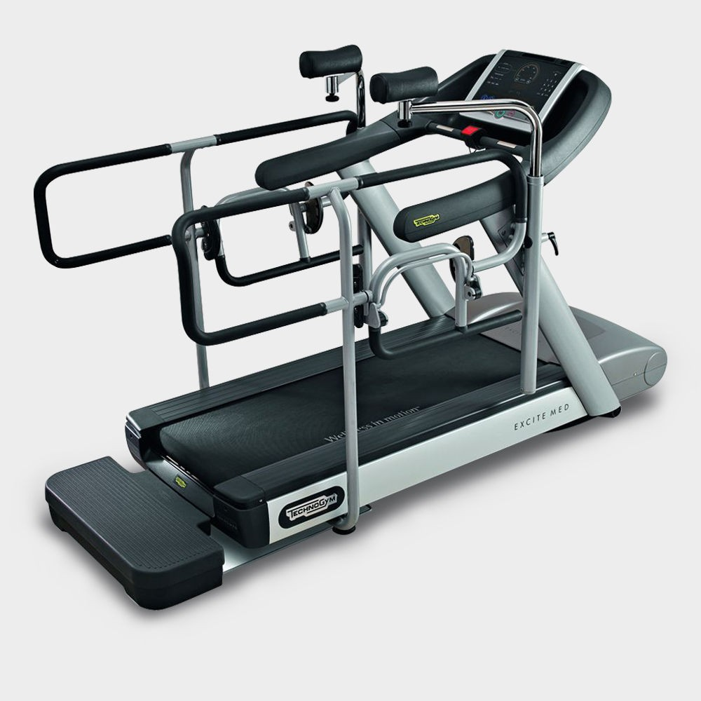 Concept fitness gym equipment - technogym excite run medical treadmil